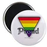 Proud Triangle Magnet