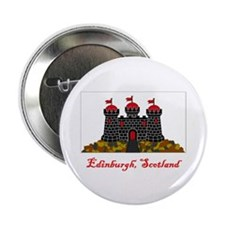 "Edinburgh Scotland Flag 2.25"" Button (100 pack)"