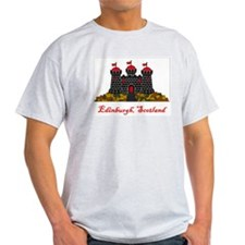 Edinburgh Scotland Flag T-Shirt