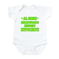 Al Gore-Hollywood Hypocrite Infant Bodysuit