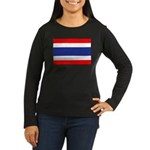 Thailand Women's Long Sleeve Dark T-Shirt
