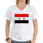 Syria Women's V-Neck T-Shirt