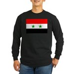 Syria Long Sleeve Dark T-Shirt