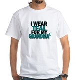 I Wear Teal For My Grandma 5 Shirt