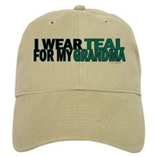 I Wear Teal For My Grandma 5 Baseball Cap