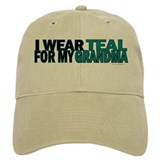I Wear Teal For My Grandma 5 Cap
