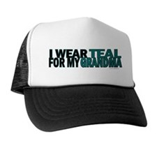I Wear Teal For My Grandma 5 Trucker Hat
