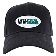 I Wear Teal For My Grandma 5 Baseball Hat