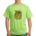 Tarsier Rain Forest Green T-Shirt