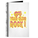 64 Year Olds Rock ! Journal