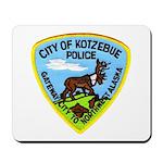 Kotzebue Alaska Police Mousepad