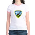 Kotzebue Alaska Police Jr. Ringer T-Shirt