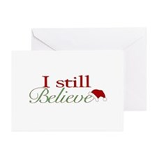 I Still Believe (Santa Claus) Greeting Cards (Pk o