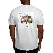 Flaming Key-Shirt
