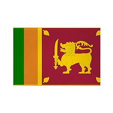 Sri Lanka Rectangle Magnet (10 pack)