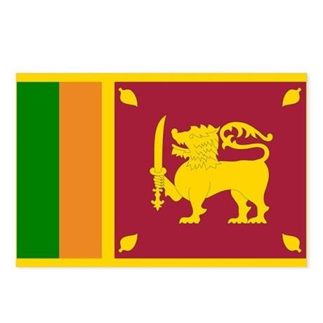 Sri Lanka Postcards (Package of 8)