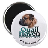 "Quail Haven Logo 2.25"" Magnet (10 pack)"