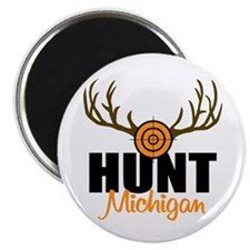 "Hunt Michigan 2.25"" Magnet (10 pack)"