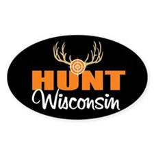 Hunt Wyoming Oval Decal