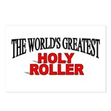 """The World's Greatest Holy Roller"" Postcards (Pack"