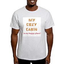 """My Cozy Cabin"" T-Shirt"