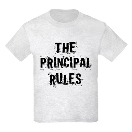 Funny Principal Kids Light T-Shirt