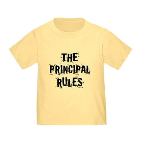 Funny Principal Toddler T-Shirt