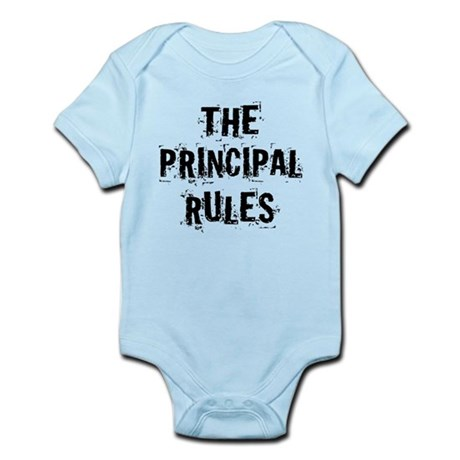 Funny Principal Infant Bodysuit