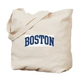 BOSTON design (blue) Tote Bag