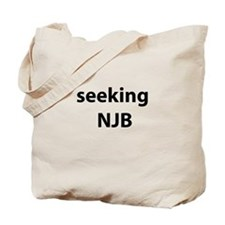 seeking NJB Tote Bag