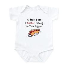 kosher hot dog Infant Bodysuit
