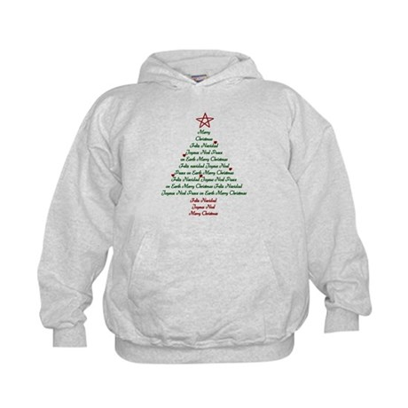 Christmas Tree Kids Hoodie