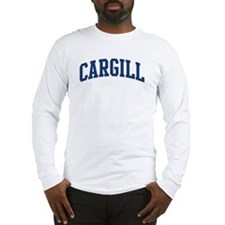 CARGILL design (blue) Long Sleeve T-Shirt