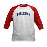 BRODERICK design (blue) Tee