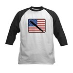 American Writing Kids Baseball Jersey