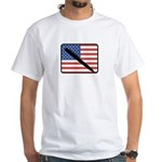 American Writing White T-Shirt