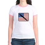 American Writing Jr. Ringer T-Shirt