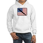 American Writing Hooded Sweatshirt