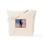 American Saxaphone Tote Bag