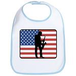 American Saxaphone Bib