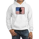 American Saxaphone Hooded Sweatshirt