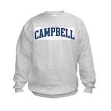 CAMPBELL design (blue) Sweatshirt