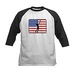 American Mens Volleyball Kids Baseball Jersey