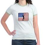 American Mens Volleyball Jr. Ringer T-Shirt