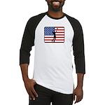 American Mens Volleyball Baseball Jersey