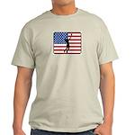 American Mens Volleyball Light T-Shirt