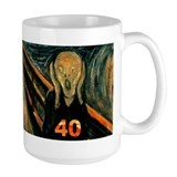Scream 40th Mug