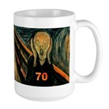Scream 70th Coffee Mug