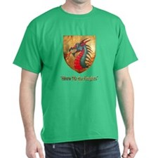 Dragon Shield Black T-Shirt