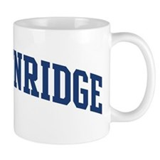 BRECKENRIDGE design (blue) Mug
